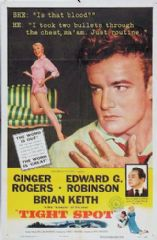 Tight Spot 1955 DVD - Ginger Rogers / Edward G. Robinson